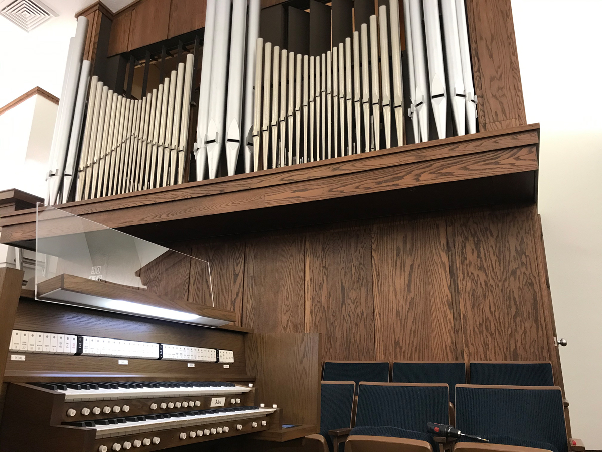 Allen Two-Manual Custom Digital & Pipe Combination Organ, Idaho Falls, Idaho