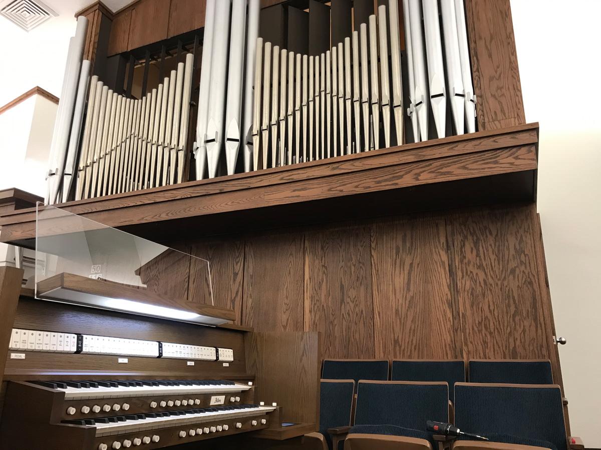 Allen Two-Manual Custom Digital & Pipe Combination Organ, Idaho Falls, Idaho