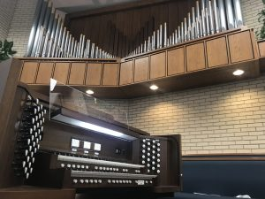 Allen Two-Manual Custom Digital & Pipe Combination Organ Rexburg, Idaho