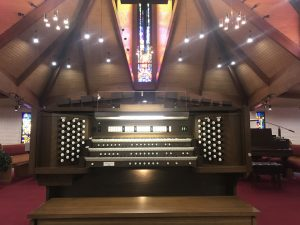 Allen Organ Bravura L-343, Lakeview United Methodist Church, Sun City, Arizona