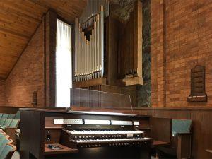 Allen Two-Manual Custom Pipe and Digital Combination Organ - Provo, Utah